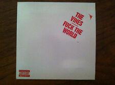 the vines F*ck the World cd single 2004 RARE