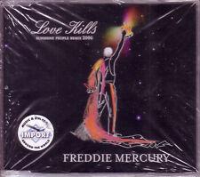 QUEEN FREDDIE MERCURY Love Kills REMIXS CD Single Sunshine People SEALED
