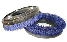"BLUE, HARD BRISTLE STRIPPING BRUSH SET OF 2, 12"", ADVANCE FLOOR SCRUBBERS, 3-LUG"