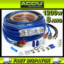 CELSUS cnk8dr 1200 WATT 8 AWG Gauge Auto completo Amplificatore AMP Kit di cablaggio