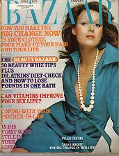 1973 Harpers Bazaar Abril - Pilar Crespi; Susan Hutton; Serena Rhinelander