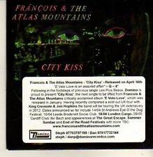 (CP50) Francois & The Atlas Mountains, City Kiss - 2012 DJ CD