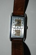 Vintage Audax doctor mechanical rare unique wrist watch
