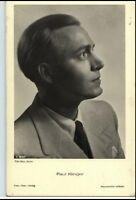 ~ 1950/60 Porträt-AK Film Bühne Theater Schauspieler PAUL KLINGER Foto-Binz