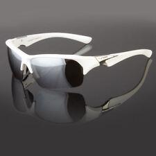New Tundra Silver Mirrored Lens Wrap Design Mens Womens Sport Sunglasses Golf