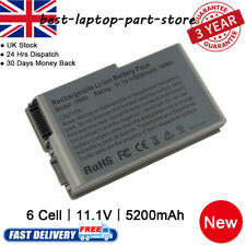 New 6 Cells Battery for DELL Latitude D500 D520 D600 D505 D610 C1295 M9014 UK