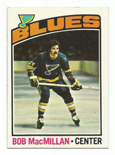 1976-77 Topps #38 Bob MacMillan RC Rookie St. Louis Blues