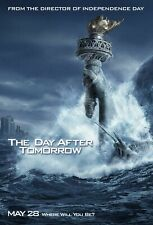 The Day After Tomorrow (Double Sided Advance Water) Original Movie Poster