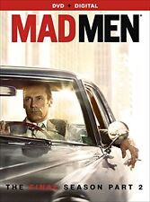 MAD MEN: SEASON 7, PART 2 DVD - THE FINAL SEASON PART 2 [3 DISCS] - NEW UNOPENED