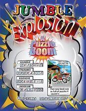Jumble Explosion: A Puzzle Boom (Jumbles) Tribune Media Services VeryGood