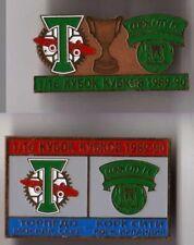 metal pin Cork City + Drogheda United Ireland
