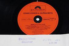 IZHAR COHEN & ALPHA BETA -Make A Little Love- LP 1978 Polydor Archiv-Copy mint