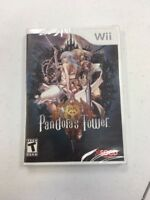 Pandora's Tower (Nintendo Wii, 2013) BRAND NEW SEALED L@@K