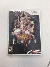 Pandora's Tower (Nintendo Wii, 2013) BRAND NEW SEALED L@@K