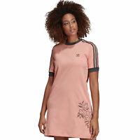 adidas Originals Tee Dress Damen-Kleid Longshirt Sommerkleid T-Shirt-Kleid