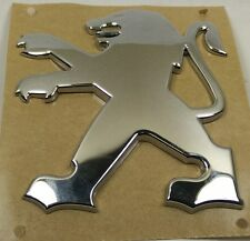 Peugeot 407 Lion Badge Boot Trunk Emblem Rear Logo 7810K9 New Genuine