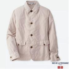 Uniqlo IDLF Coverall Womens Pink Shirt Jacket Coat Large Ines De La Fressange