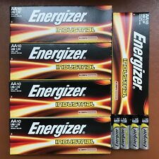 50 x Energizer AA Industrial Alkaline Batteries 1.5V LR6 MN1500 Expiry 12-2027