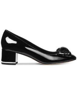 NIB - Michael Kors Paris Mid pump Black Patent Size 9