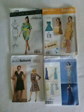 New Look Butterick Project Runway Simplicity Lisette 4 x Sewing Patterns