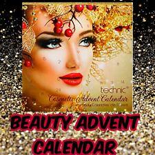 Technic Festive Girl Cosmetic Advent Calendar Make up Beauty Gift Set Eyes Lips