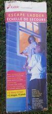 Kidde Escape Ladder 2 Story 13 Feet Fits Most Standard Size Windows new