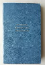 SMYTHSON PANAMA 'BLONDES BRUNETTES REDHEADS' ADDRESS BOOK in BLUE RRP £45.00 BN