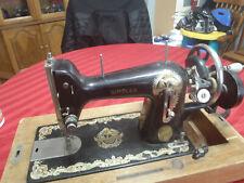 vintage simplex sewing machine hand crank