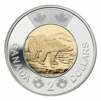❗️❕❗️ Canada 2 (Two) Dollars $2 Coin, Toonie, Polar Bear, 2016