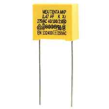 0.8x27mm AC 275V 0.47uF Polypropylene Film Safety Capacitors 10 Pcs HY