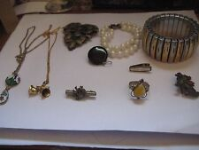 10 Piece Lot of Victorian to Now  Jewelery All Wearable Lot 3