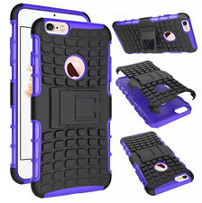 Hybrid HEAVY DUTY SHOCKPROOF KICKSTAND RUBBER HARD CASE COVER FOR MOBILE PHONES