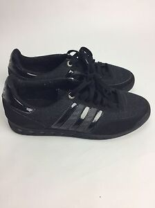 ADIDAS  Black Size UK 8 100% Authentic Great Condition Unfortunately No Box