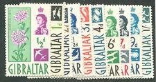 GIBRALTAR #147-156 MINT