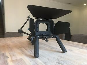 Matte Box, Sholder Rig, and Micro Arm with soft carying case
