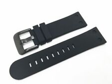 TW Steel Canteen 22mm Black Silicone Watch Strap