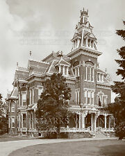 Victorian house Vaile haunted mansion Independence Missouri photo CHOICES 5x7 or