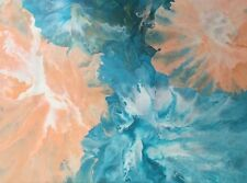 ORIGINAL Abstract Acrylic Design Home Decor Canvas Karen Warren art KT Artistry