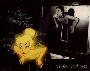 Walt Disney's classic movie Peter Pan Margaret Kerry signed photo