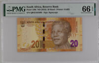 South Africa 20 Rands ND 2016 P 139 B GEM UNC PMG 66 EPQ