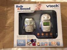 VTech Safe and Sound DECT 6.0 Digital Audio Baby Monitor - DM225 OWL