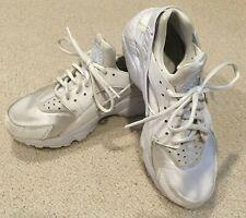 Nike Air Huarache White Sneakers - Women's US 6.5