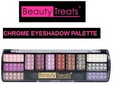 Shimmer Matte Eye Shadow Makeup Cosmetic 12 Color Eyeshadow Palette Brush Set