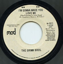 Hear- Rare Novelty 45- The Grimm Bros- I'm Gonna Make You Love Me- Mod #1011- M-