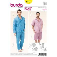 Burda Style Super Easy SEWING PATTERN 6741 Mens Pyjamas/Pajamas 38-48