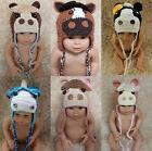 Wholesale Lot 10 Knit Cotton Newborn Baby Child Horse Foal Hat Photo Prop Hats