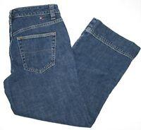 Tommy Hilfiger Women's Capri Pants Sz 4 Denim Blue Jean 100% Cotton EUC!