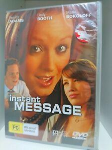 Instant Message (DVD) Region All, New & Sealed, Sokoloff, Adams, Booth