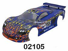 02105 Carrozzeria corvette Blue 1/10