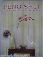 Various Artists Feng Shui Music for Balanced Living (3xCD Box 2006) New Sealed
